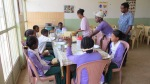Kids enjoying a hot meal