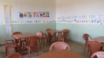 Classroom furnished by the Vulnerable Children Society