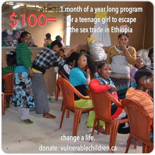 10 women fundraise for 10 girls