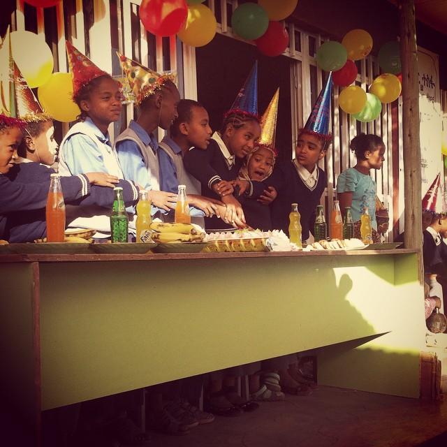 Ethiopian Group BirthdayParty