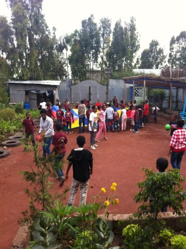 Love and Hope after school centre for poor kids in Addis Ababa, Ethiopia