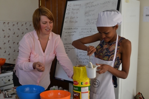 Vulnerable Children Society' s New Life - Teen Sex Trade Worker Retraining Program in Addis Ababa